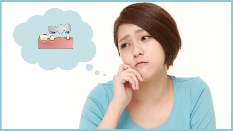 ブリッジをした歯に違和感や痛みが出る6つの原因